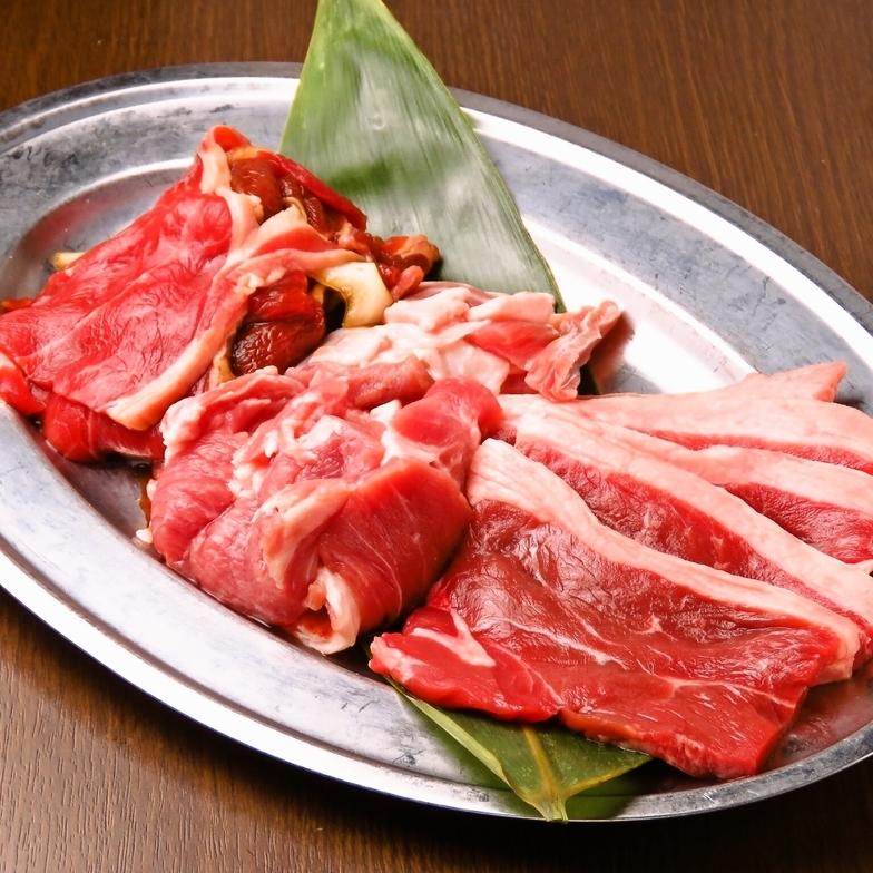 焼肉・ジンギスカン・サムギョプサル食べ放題2480円~♪